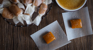 Go Nuts For These Peanut Butter Salted Caramels