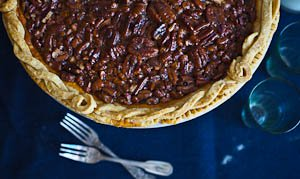 A Pecan Pie For Giving Thanks