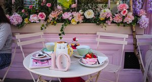 Peggy Porschen's Pink Parlour, London