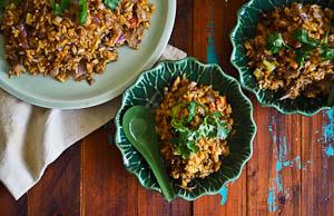 Quick Meals: Peking Duck Fried Rice!