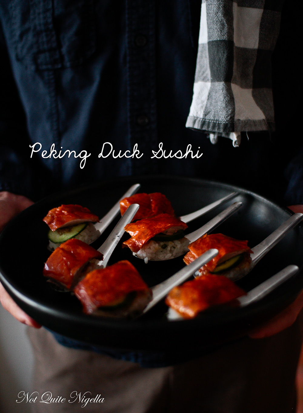 Peking Duck Sushi