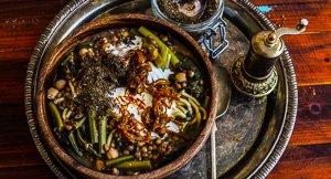 Ash Reshteh or Persian Lentil & Noodle Soup!