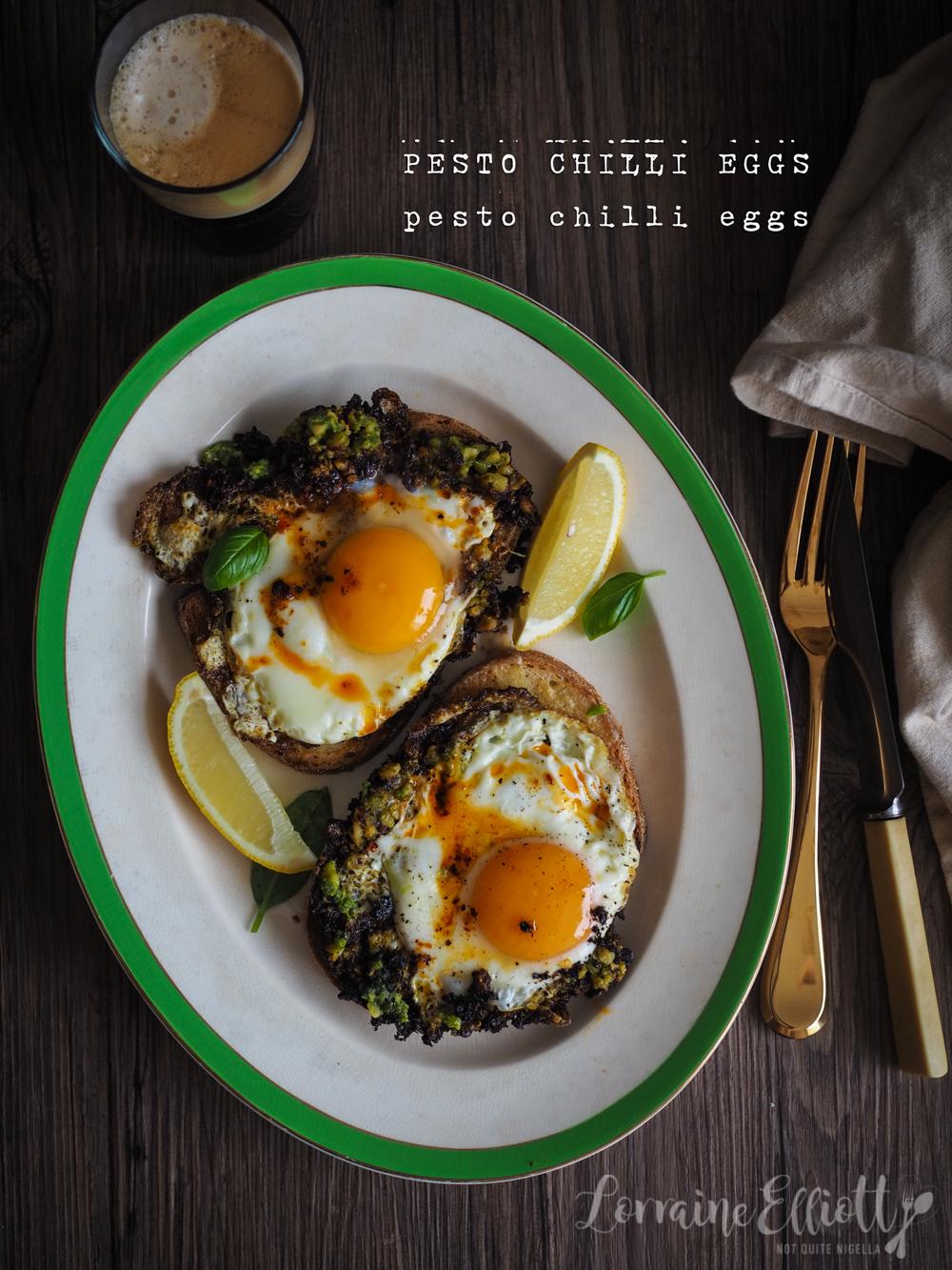 Pesto Eggs TikTok