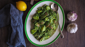 FRESH Pesto Potato Salad