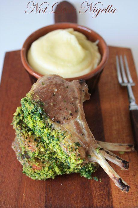 Pesto Rack of Lamb & The Ultimate Mashed Potato!