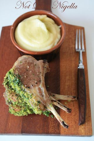Pesto Rack of Lamb & The Ultimate Mashed Potato!