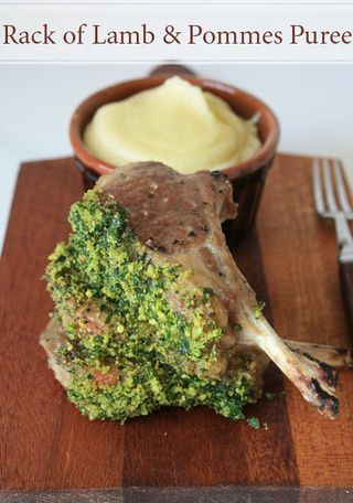 rack of lamb pommes puree 1