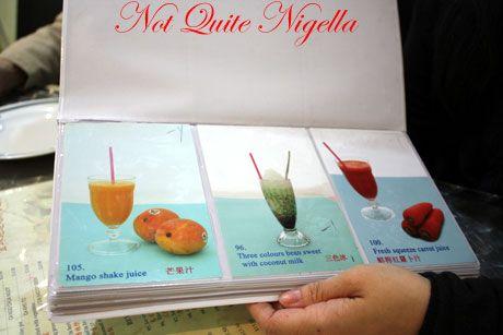 pho golden kingsford drinks menu