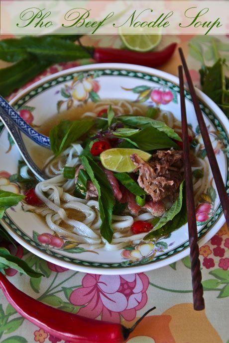 Pho - Vietnamese Beef Noodle Soup @ Not Quite Nigella