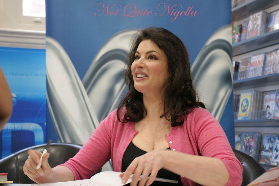 Nigella Lawson book signing at ABC store Sydney