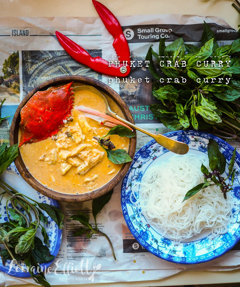 Phuket Crab Curry easy