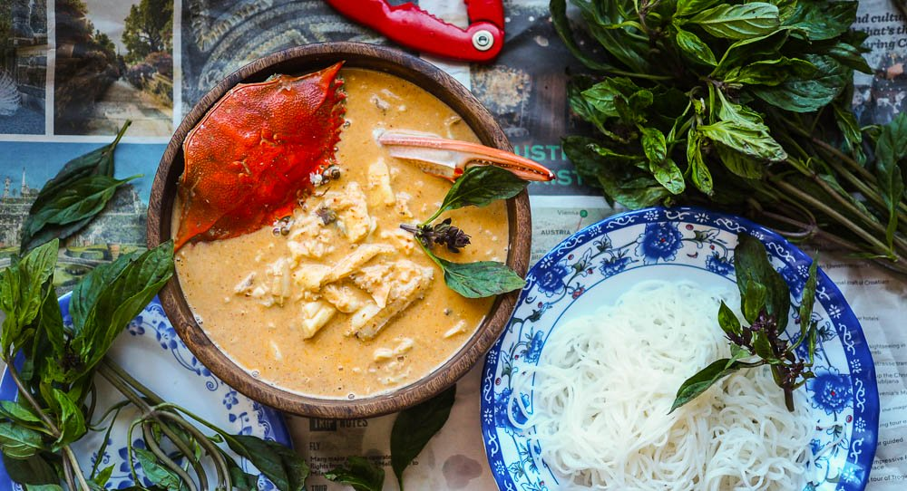 Speedy Breezy Phuket Crab Curry