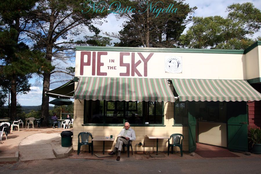 Pie in the Sky pie shop at Cowan review @ Not Quite Nigella