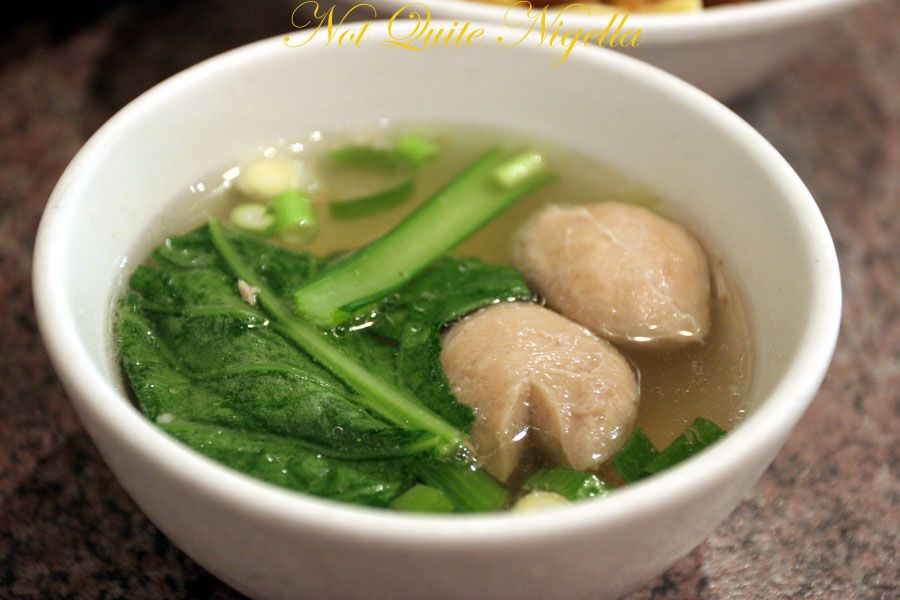 Pinangsia at Kingsford meatball soup