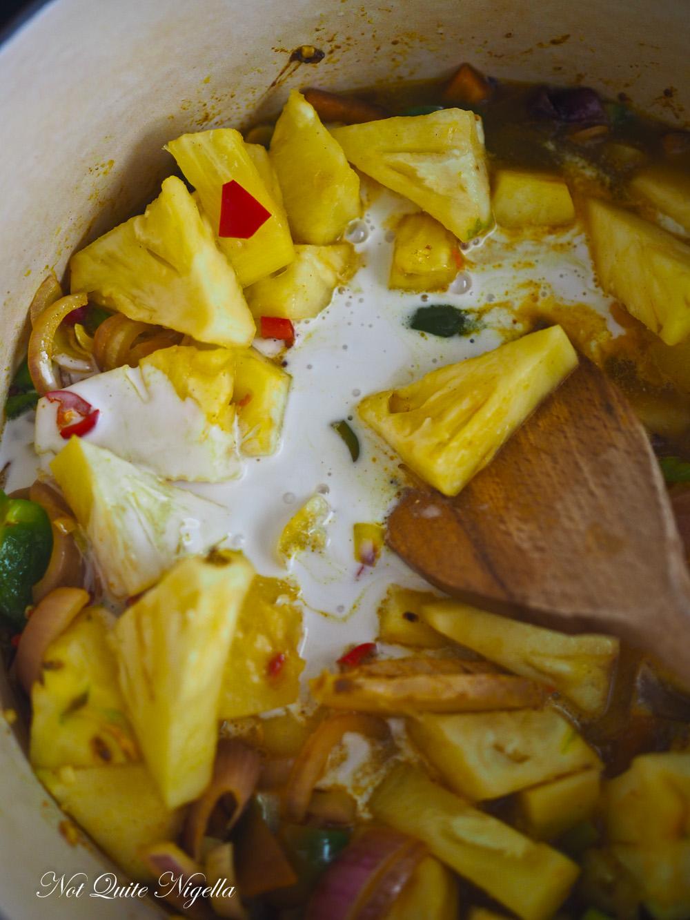 Pineapple Curry Sri Lankan
