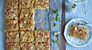 Summer's Almost Here With A Pineapple & Coconut Lunchbox Slice!