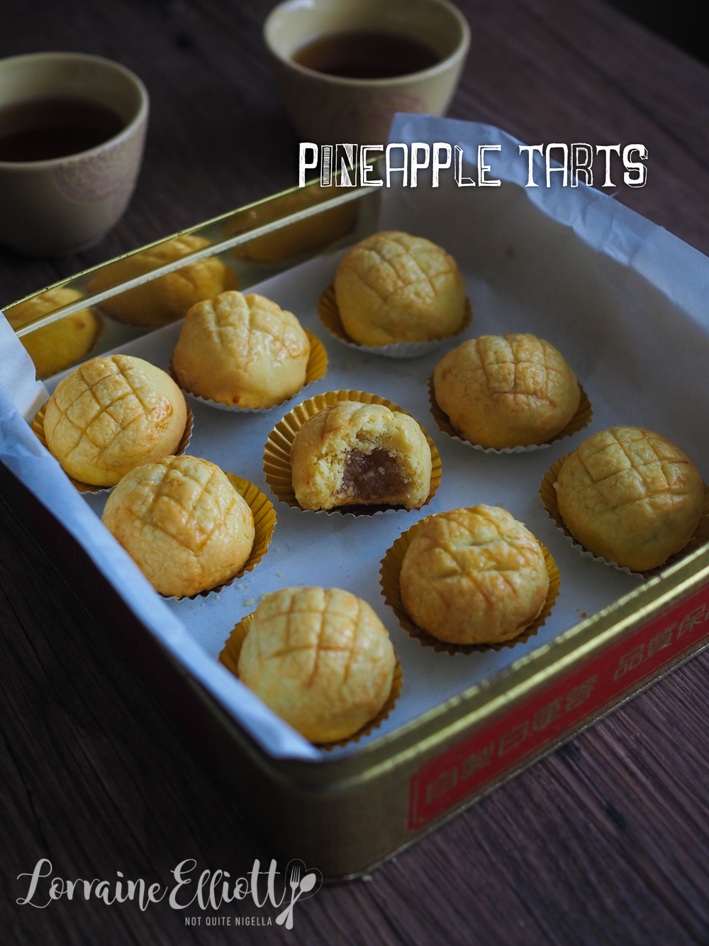Chinese Pineapple Tarts