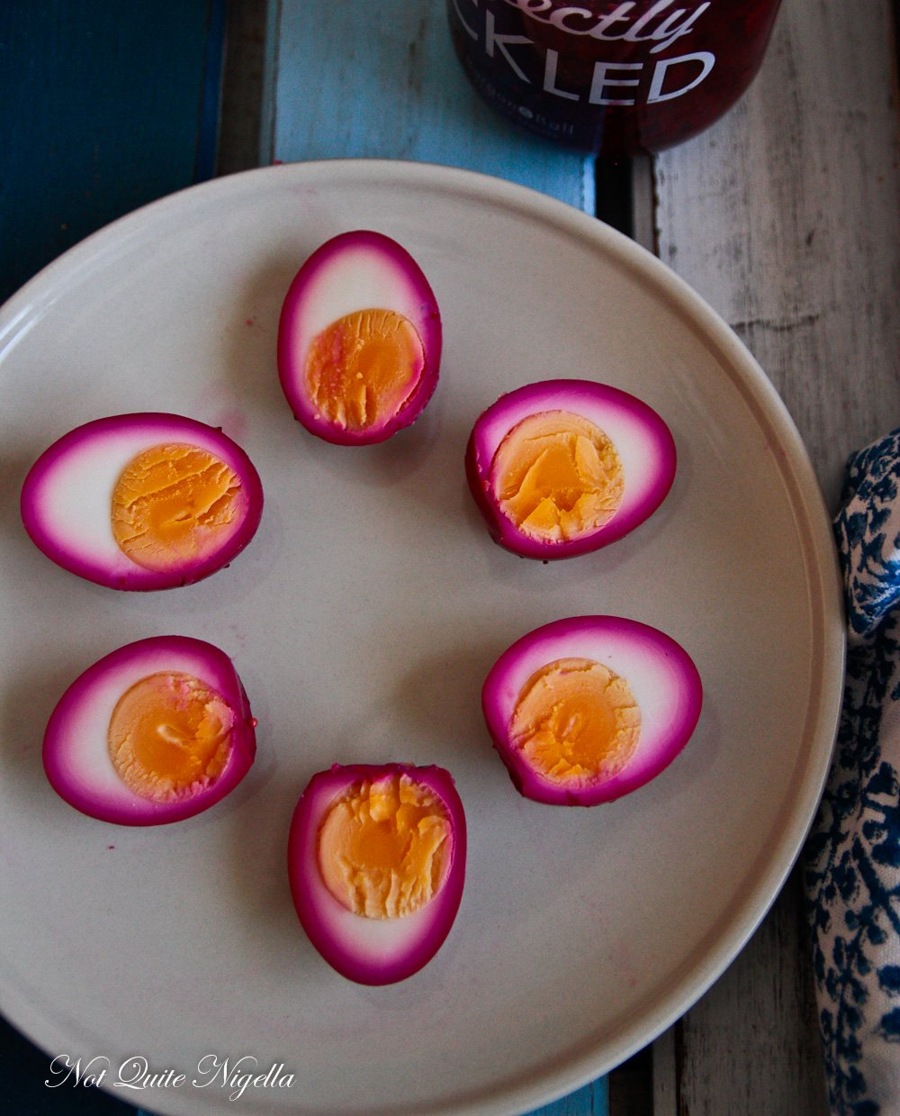 Pink Pickled Eggs