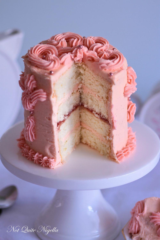 pink victorian sponge