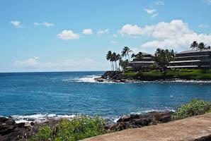 Travelling South to Poipu, Kauai, Hawaii