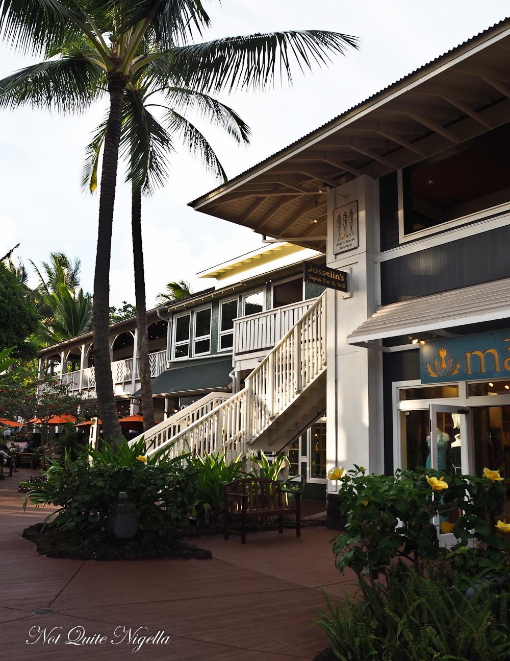 Poipu Food Kauai
