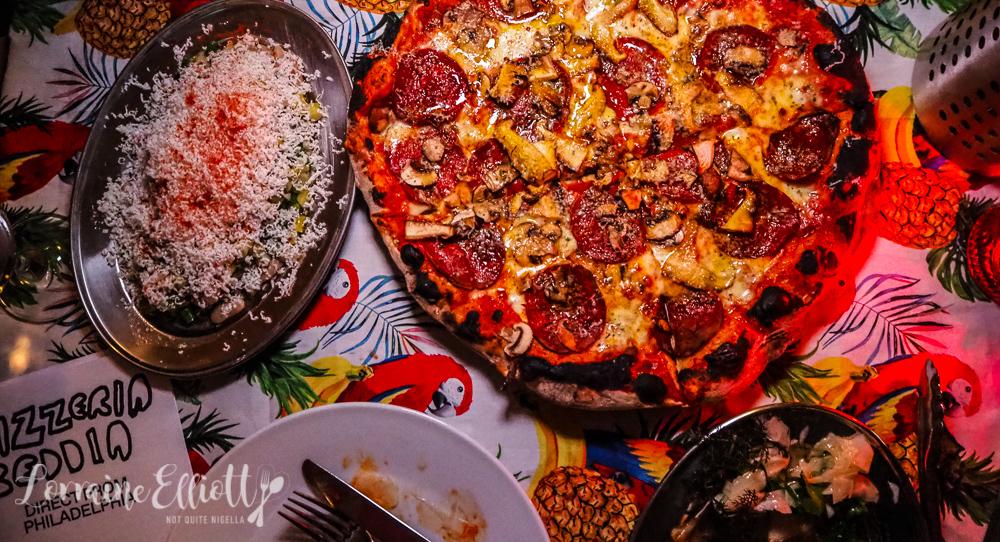 Pizzeria Beddia Bondi Beach pop up