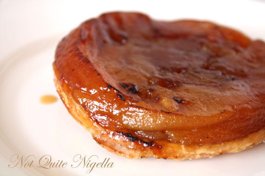 Plan B by Becasse Caramelised apple tart