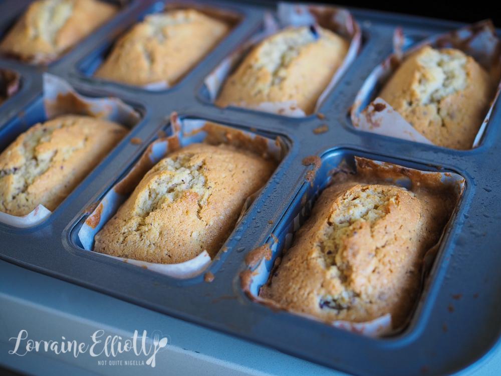 Little Plum & Hazelnut Butter Cakes