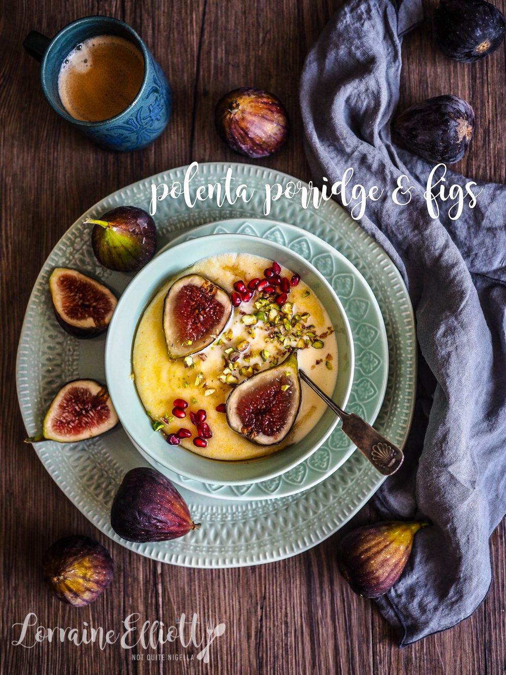 Easy Polenta Porridge How To Pick Figs