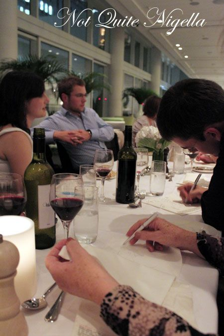 merivale, pop up dinner, drawing