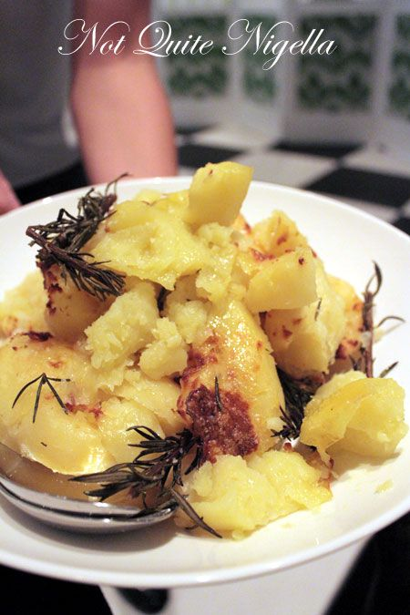 merivale, pop up dinner, roast potatoes
