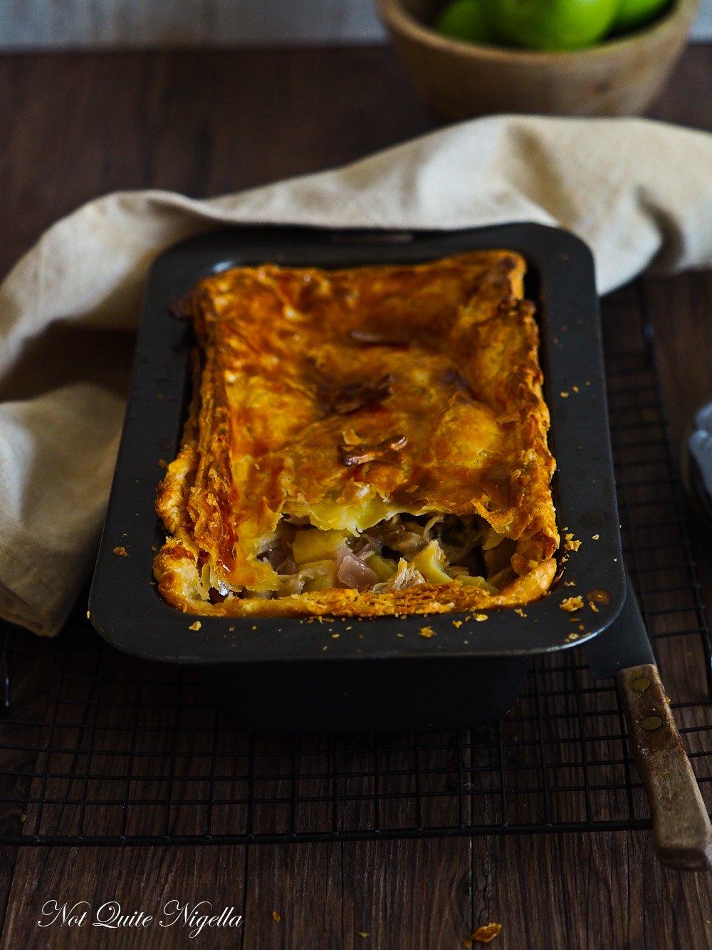 Pork Belly Apple Pie