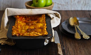 Luscious Twice Baked Pork Belly And Apple Pie