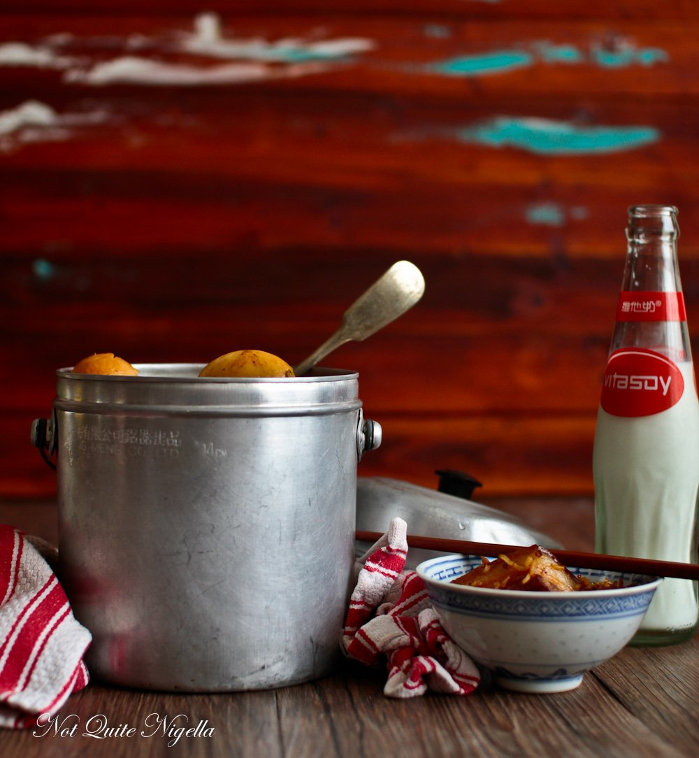 Pork Belly Rice Cooker