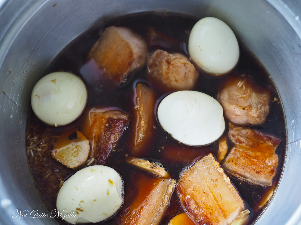 Pork Belly Rice Cooker