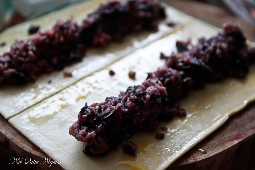 Pork Fennel Chestnut Sausage Rolls