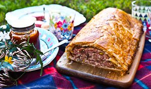 Father's Day Feast: Pork & Pistachio Sausage Roll