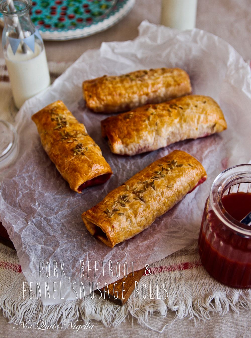 pork fennel sausage roll