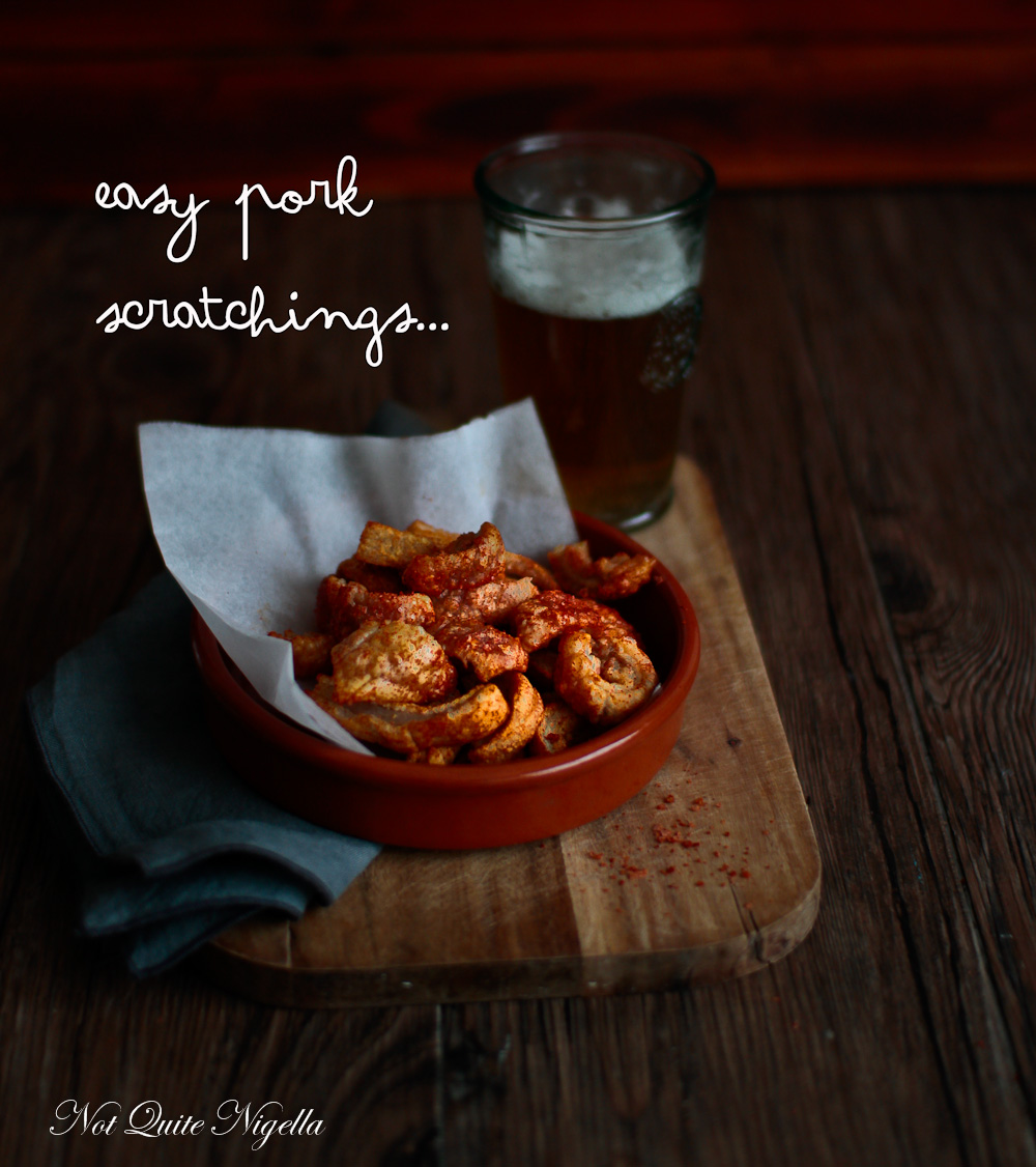 Easy Oven Baked Pork Scratchings