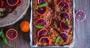 Portokalopita Greek Filo Blood Orange Cake!