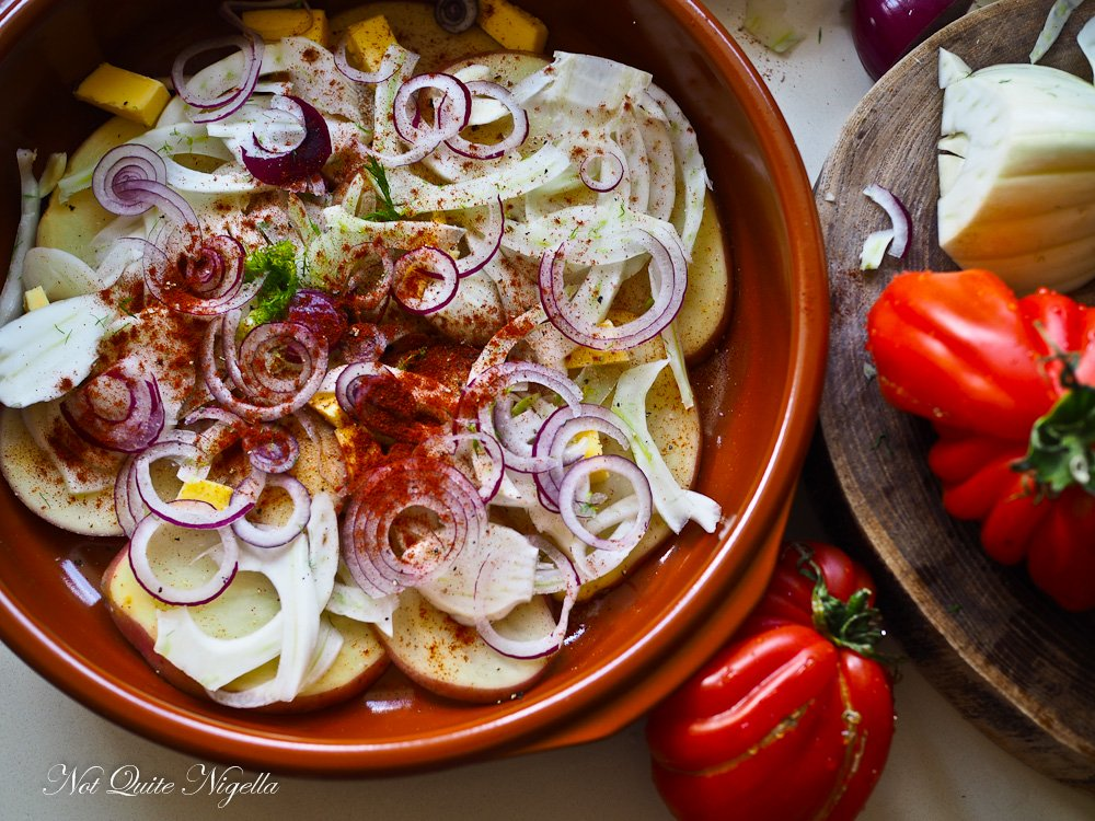 Portuguese Fish Stew Caldeirada