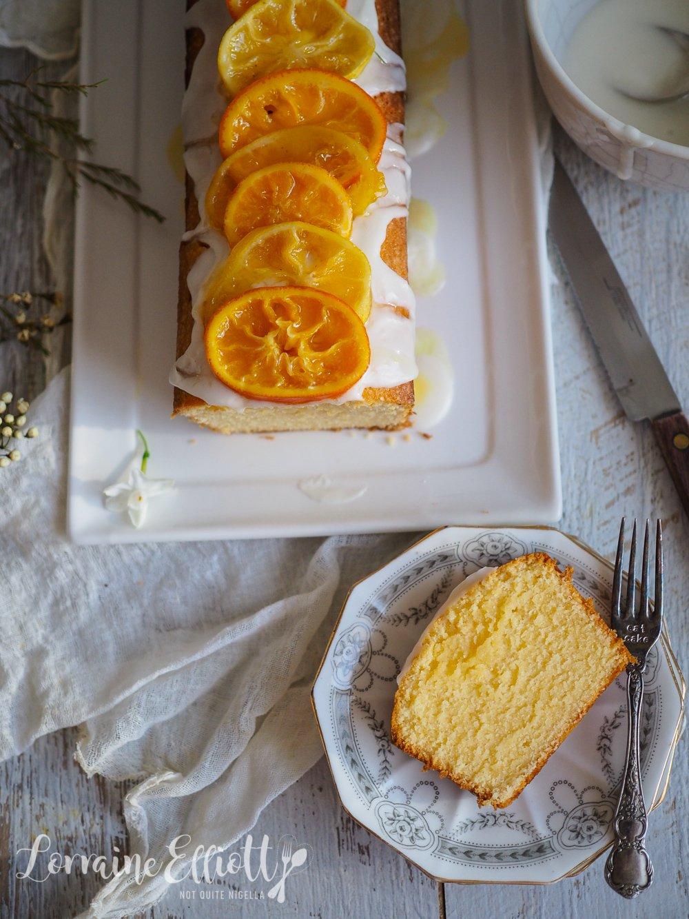 Softest Moist Yuzu Lemonade Pound Cake