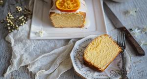 Reverse Psych! Yuzu Lemonade Pound Cake {Using Reverse Creaming Method}