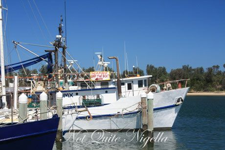 Prawns off the boat, Waterholes, Max's Restaurant & Montalto Winery, Victoria
