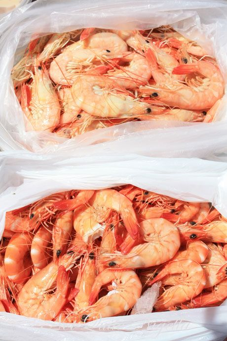 Prawns off the boat, Waterholes, Max's Restaurant & Montalto Winery, Victoria