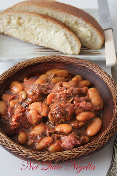 Pressure Cooking 101: Kick Ass Beans, a simplified cassoulet