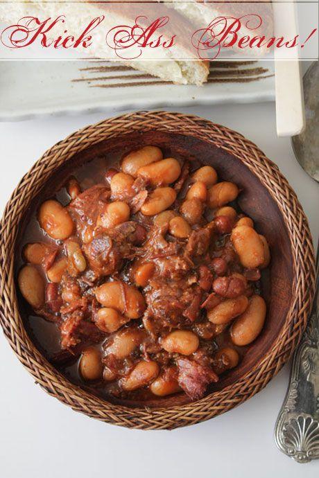 Pressure Cooking 101: Kick Ass Beans, a simplified cassoulet