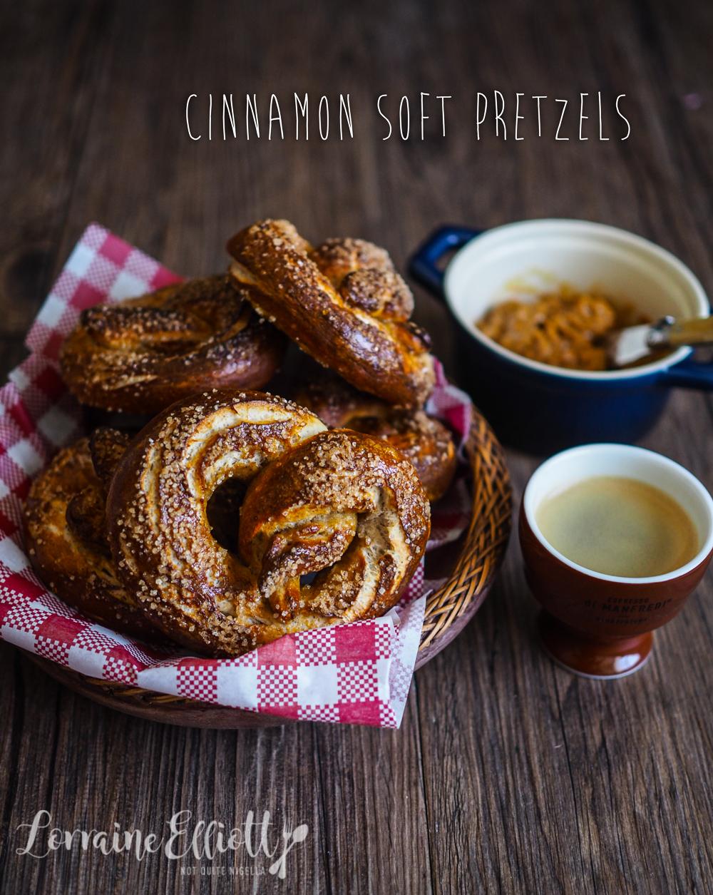 Cinnamon Sugar Soft Pretzels