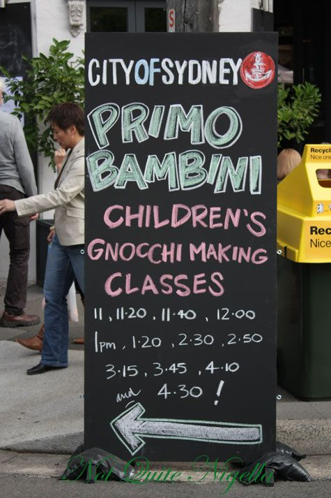 Primo Italiano Festival 2009, East Sydney