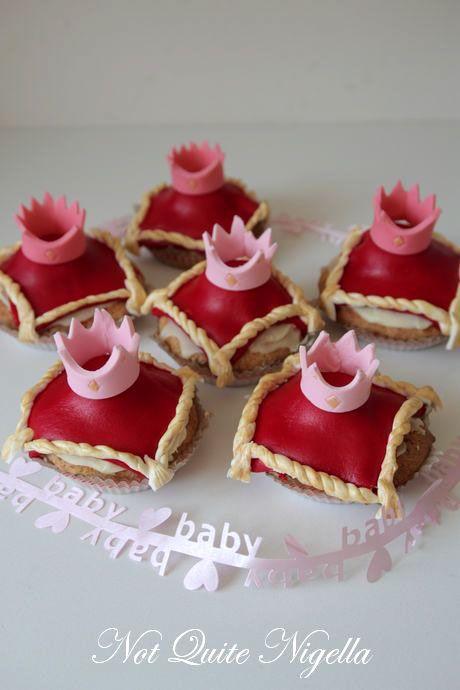 crown princess cupcakes